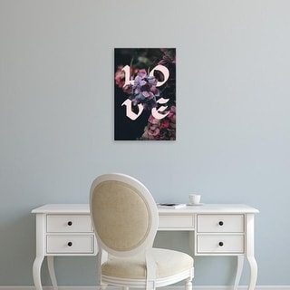 Easy Art Prints 'Love' Premium Canvas Art