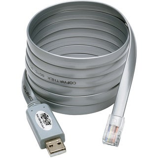 Link to Tripp Lite U209-006-RJ45-X USB to RJ45 Cisco Serial Rollover Cable USB Type-A to RJ45 M/M 6 Feet Similar Items in Cables & Connectors