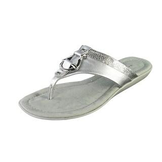 Bandolino Janette Open Toe Synthetic Thong Sandal