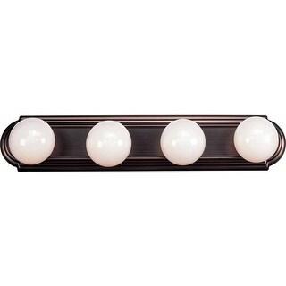 "Volume Lighting V1124 24"" Width 4 Light Bathroom Vanity Strip"