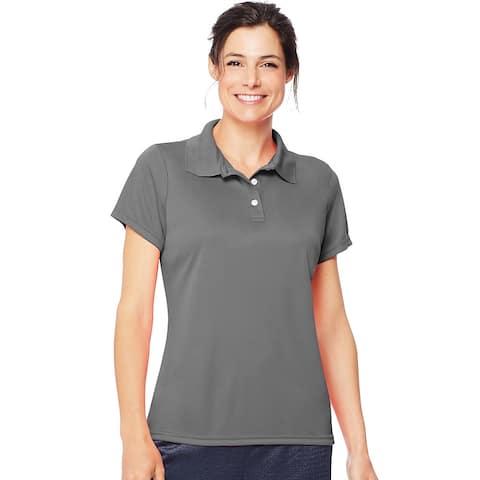 Hanes Cool DRI® Women's Polo - Size - L - Color - Graphite