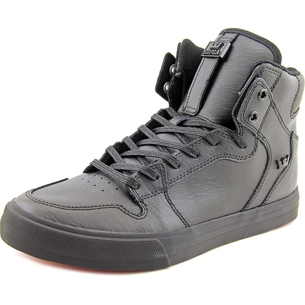 36127b7fa4d1 Shop Supra Vaider Men Black Black-Red Skateboarding Shoes - Free ...