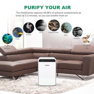 Link to Home Use Air Purifier 3-Layer Filtration Similar Items in Air & Water Filters