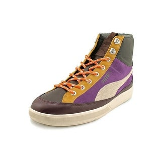 Puma Archive Lite Mid OU Men Round Toe Leather Sneakers
