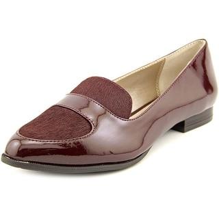 Alfani Zanta 2 Round Toe Patent Leather Loafer
