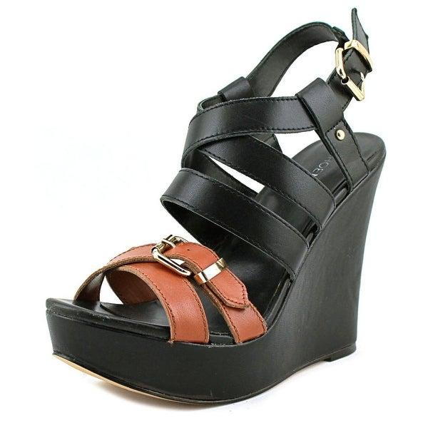 ShoeMint Frida Women Black Sandals