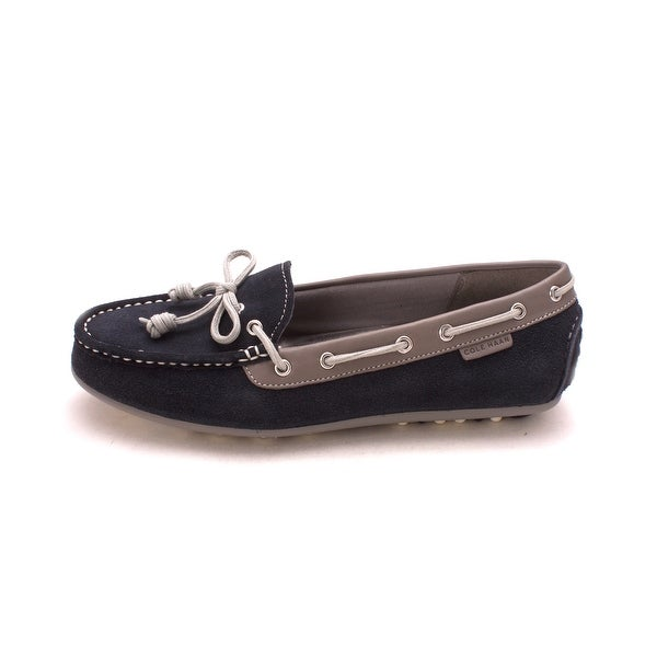 Cole Haan Womens D43382 Suede Closed Toe Boat Shoes - 6