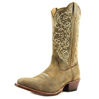 Twisted X Western Women  Round Toe Leather Gray Western Boot
