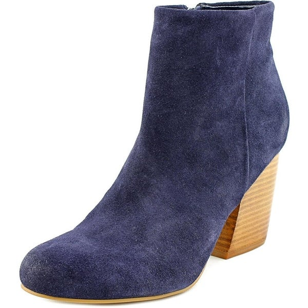 Crown Vintage Tashaa Round Toe Suede Ankle Boot