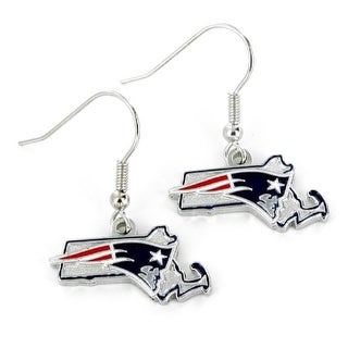 New England Patriots Earrings State Design