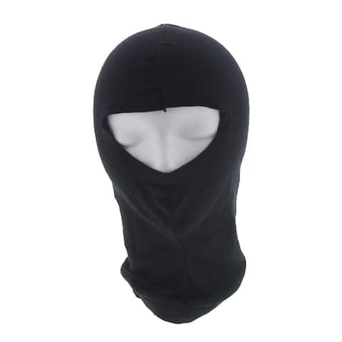 Arctic Shield Silk Balaclava Black Full Face Mask by Back 40 Apparel Company