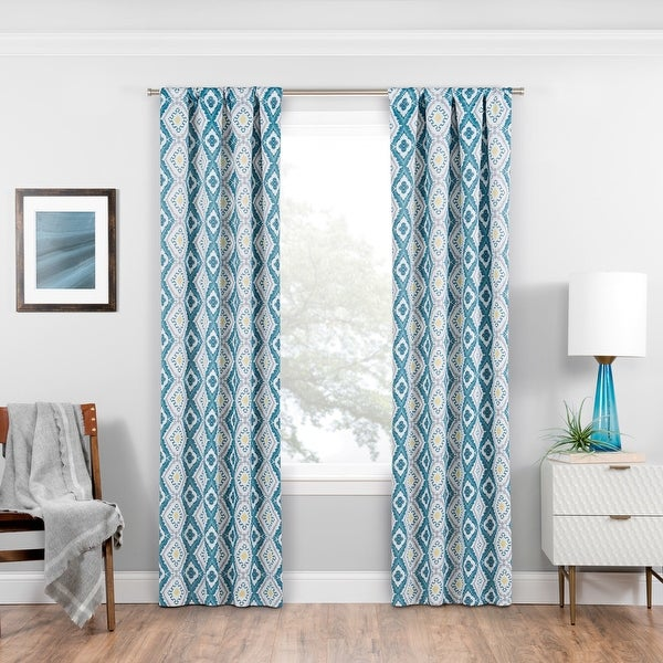 Eclipse Morrow Blackout Window Curtain Panel. Opens flyout.