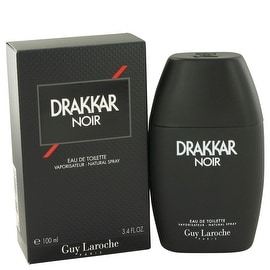 DRAKKAR NOIR by Guy Laroche Eau De Toilette Spray 3.4 oz - Men