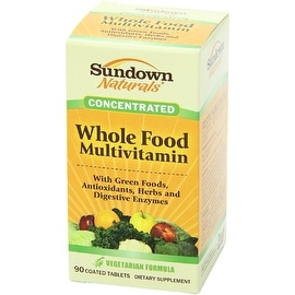 Sundown Naturals Whole Food Concentrate Multivitamin Coated Tablets 90 ea