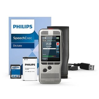 Philips Speech Processing DPM7000-01 Digital Pocket Memo Recorder Pr