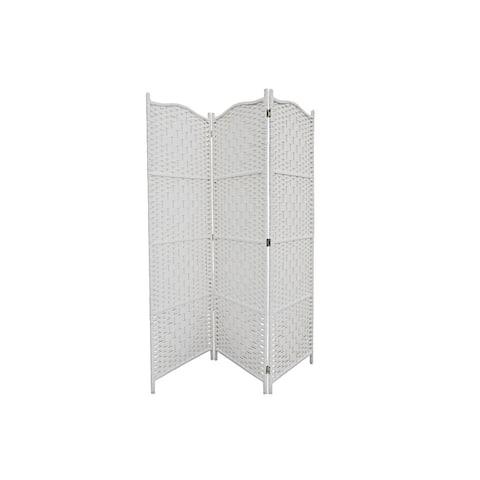 3 Panel Woven Bamboo Screen (reese)