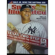 Signed Rodriguez Alex New York Yankees Sports Illustrated 22304 autographed
