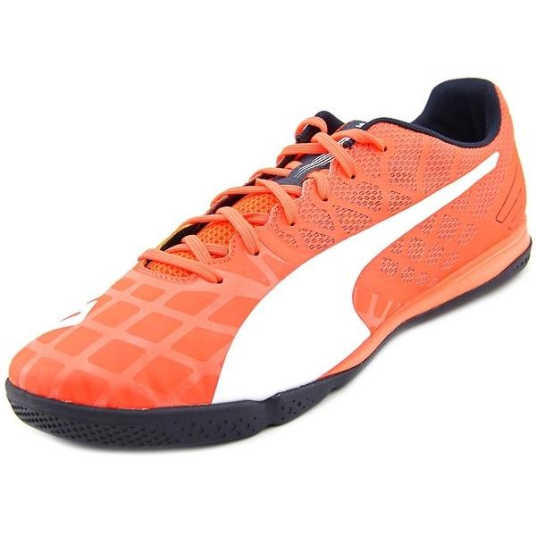 Puma Evo Speed Sala 3.4 Men  Round Toe Synthetic Orange Cross Training