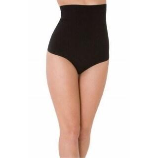 Skinnygirl NEW Black Women's Size Medium M High Rise Briefs Shapewear