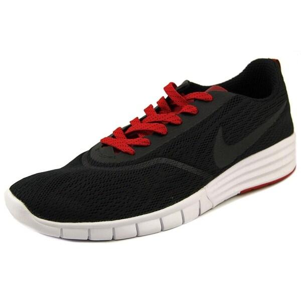 Nike Paul Rodriguez 9 R/R Men Round Toe Synthetic Black Skate Shoe