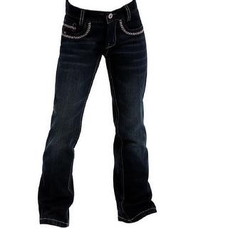 Cruel Girl Western Denim Jeans Girls Little Ella Indigo CB21962001
