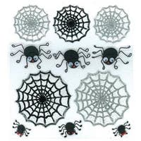 Cute Spiders & Webs - Jolee's Halloween Stickers