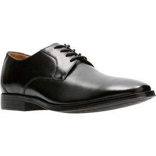 0c3b59e74bddd Shop Clarks Men's Gilman Lace Oxford Black Full Grain Leather - On Sale -  Free Shipping Today - Overstock - 17428032