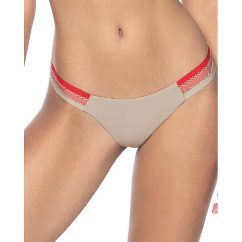 Pilyq Trim Tab Full Bikini Bottom - OYS