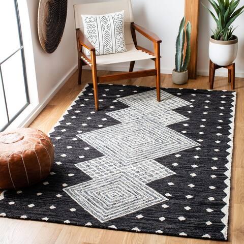 Safavieh Handmade Micro-Loop Orestilla Modern Wool Rug