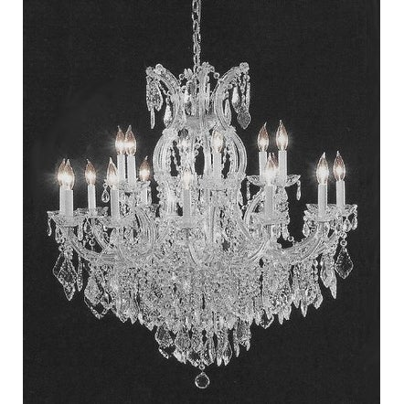 Swarovski Elements Crystal Trimmed Crystal Chandelier Lighting H38 x W37