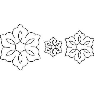 """Quilt Stencils-3"""", 5"""" & 7"""" C. L. Flowers 8""""X18"""""""
