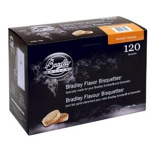 Bradley BTMQ120 Flavor Bisquetttes - Mesquite 120Pk