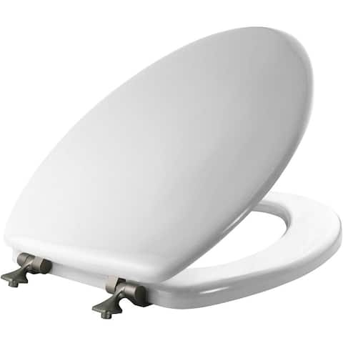 Mayfair 144BN-000 Elongated Toilet Seat, White