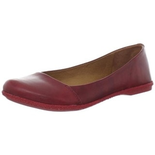 Naya Womens Olympia Leather Slip On Loafers