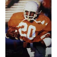 Earl Campbell signed Texas Longhorns 16x20 Color Photo HT 77 Heisman