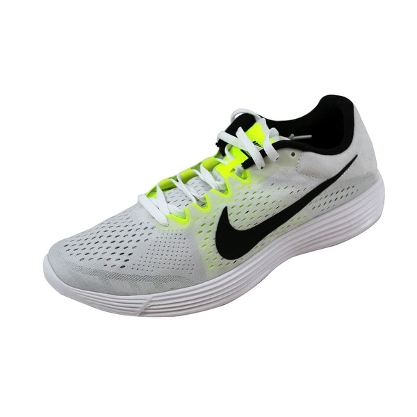 Nike Men's Lunaracer 4 White/Black-Volt 844562-107