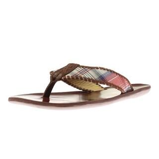 Jack Rogers Mens Sullivan Slide Colorblock Flip-Flops