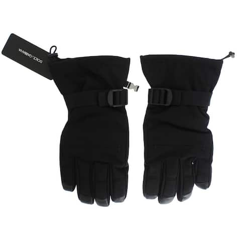 Dolce & Gabbana Black Winter Warm Gloves