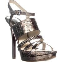 MICHAEL Michael Kors Nadja Platform Sandals, Nickel