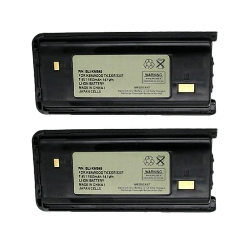 Battery for Kenwood BLIKNB45 (2-Pack) Replacement Battery