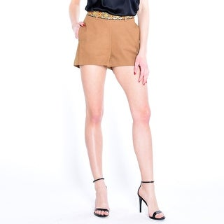Fleetwood Vegan Leather Short - Tan