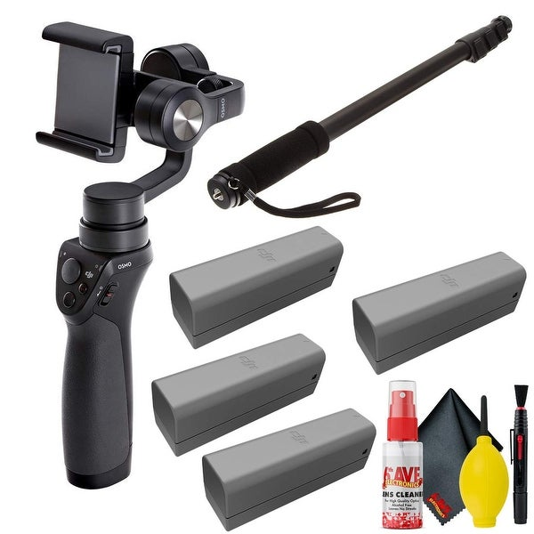 DJI Osmo Mobile Gimbal - Osmo Battery(4Total) - Cleaning Kit -. Opens flyout.
