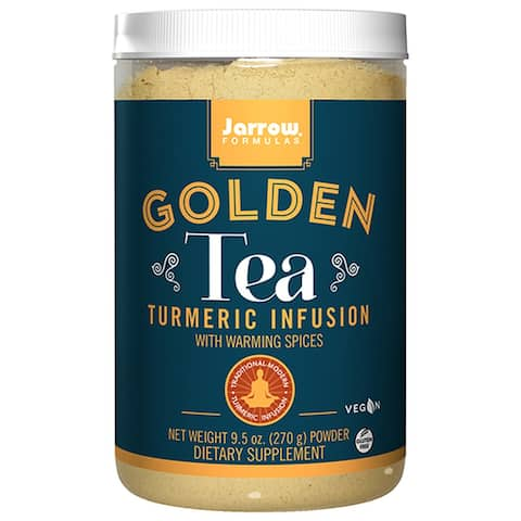 Jarrow Formulas Turmeric Infusion + Warming Spices Golden Tea 9.5 oz. powder