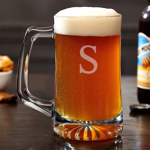 Brewmaster Personalized Beer Mug, 15 ounces