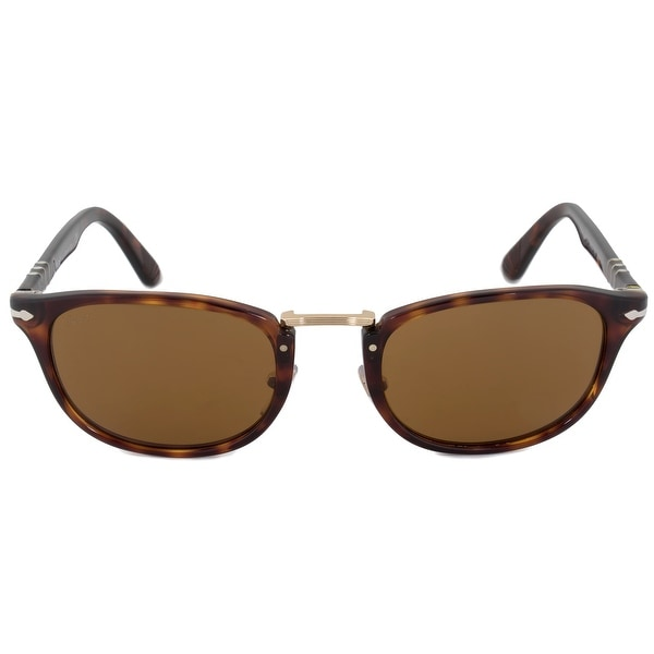 a6bbdb10d4 Shop Persol Typewriter Edition Square Sunglasses PO3127S 24 33 52 ...