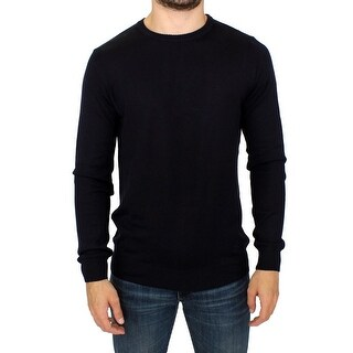 GF Ferre GF Ferre Black Knitted Wool Blend Pullover Sweater