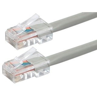Link to Monoprice Cat5e Ethernet Patch Cable - 10ft - Gray, RJ45, 350Mhz, UTP, 24AWG Similar Items in Cables & Connectors
