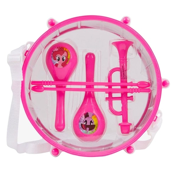 My Little Pony 6 Piece Drum Set in Pink. Opens flyout.