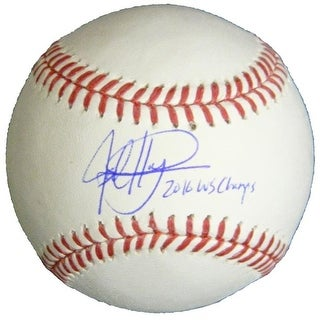 Jed Hoyer Signed Rawlings Official MLB Baseball with 2016 WS Champs