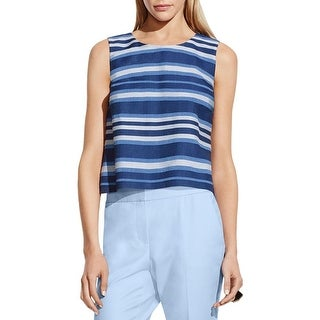 Vince Camuto Womens Tank Top Striped Sleeveless